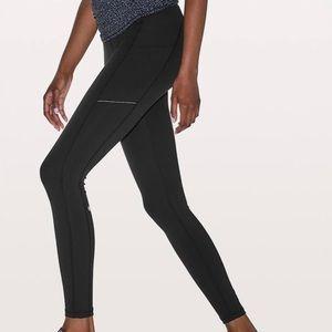 NWOT lululemon size 4 black 'speed up tight' pants